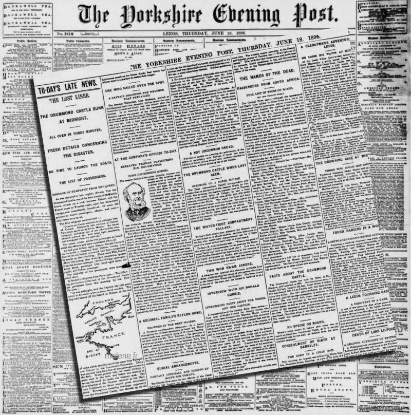 The Yorshire Evening Post 18 juin 1896