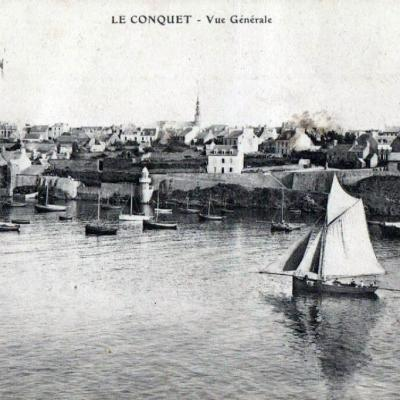 La Louise Au Conquet Collection Rboelle Postee1934